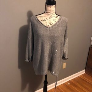 DKNY Sweater with Sequins